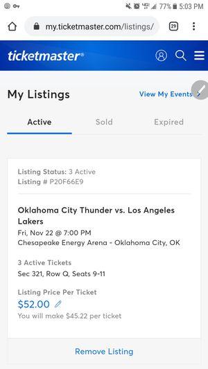 OKC vs LA for Sale in Norman, OK