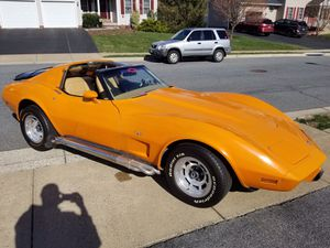 1977 corvette C3 4spd 350sbc 340hp for Sale in Walkersville, MD