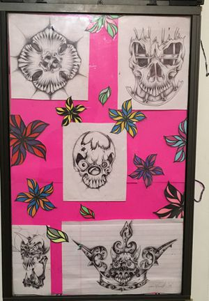 Skulls of life hand drawings for Sale in New Haven, IN