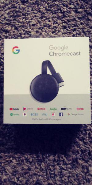 Google chromecast generation 3 for Sale in Fair Oaks, CA