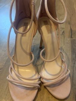 Pink Forever 21 Strappy Heels Size 9 for Sale in Yucaipa,  CA