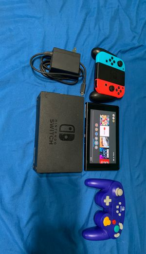 Nintendo Switch + Pro Controller & Games for Sale in Venus, TX