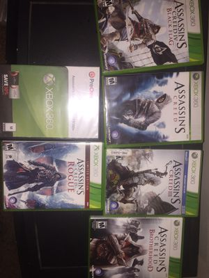 Assassin's creed XBOX 360 games for Sale in Westminster, CO
