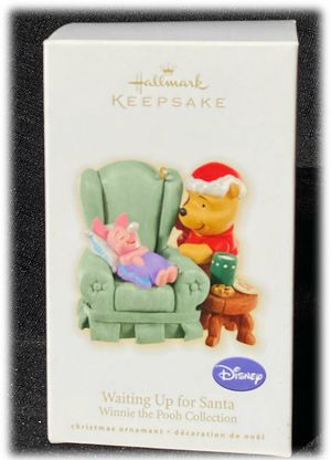 Hallmark Winnie The Pooh Christmas Ornament 2009 Waiting For Santa Piglet for Sale in Moreno Valley, CA