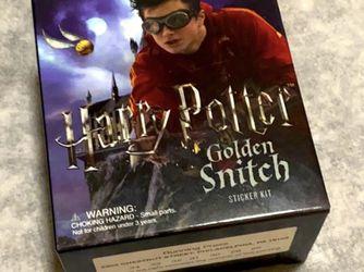 Harry Potter Golden Snitch & Sticker Set for Sale in Hoboken,  NJ