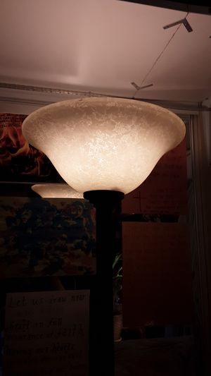 6' foot tall lamp, beautiful oil rubbed bronze! for Sale in Chino Hills, CA