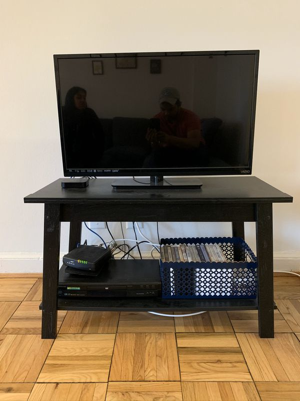 TV stand and TV (comes as set or separately)