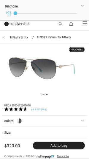 Tiffany Sun Glasses for Sale in University Park, MD