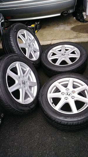 16 rims and tires for Sale in Hillsboro, OR