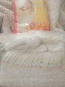 Newborn Diapers for Sale in Carson,  CA