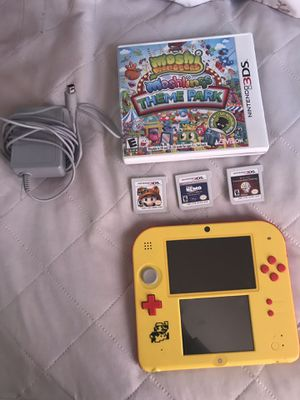 Nintendo 2DS with Super Mario marker pre installed - for Sale in Garfield Heights, OH