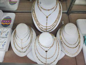 14k gold chains for Sale in Villa Park, IL