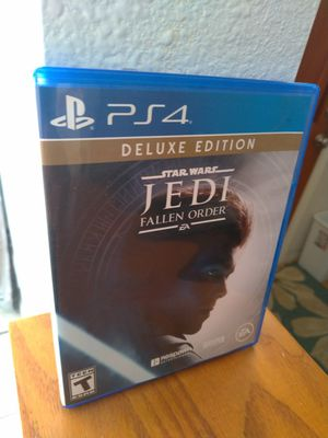 Star Wars Jedi Fallen Order Game - PS4 - Sony PlayStation for Sale in Chula Vista, CA