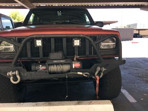 Dirtbound Off-road extreme winch bumper with Bull bar and Smitty built 9500 x series winch for Sale in Phoenix, AZ