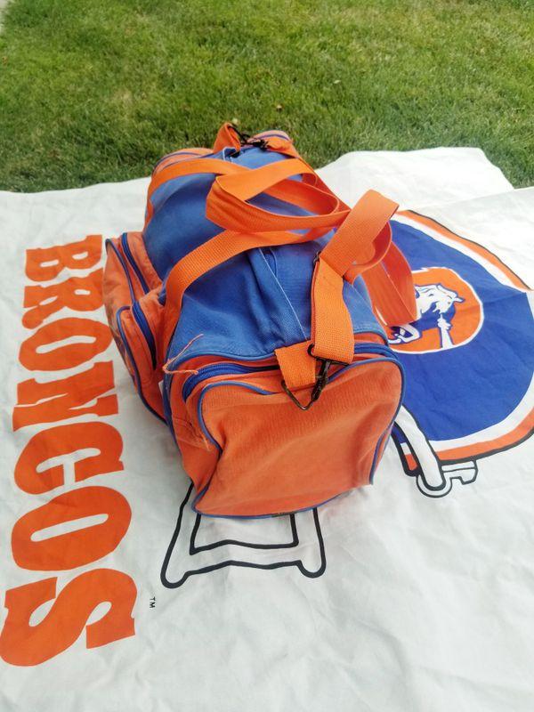 Denver Broncos duffle bag