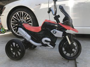 BMW R 1200 GS Push Kids Motorcycle 3-5 years for Sale in Moreno Valley, CA