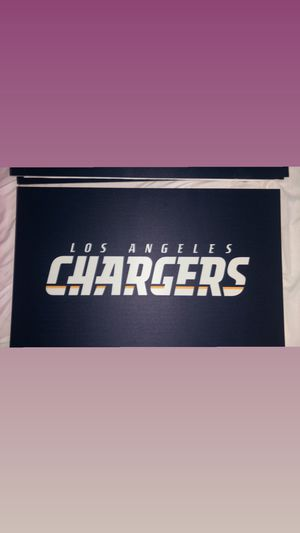 Chargers posters for saleeee hmu to purchase!❤️ I have 10 in stock and 10 smaller ones for Sale in Buena Park, CA