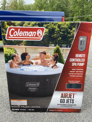 """Coleman Saluspa Inflatable Hot Tub 77"""" x 28"""" for Sale in Clarksburg, MD"""