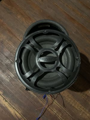 "8"" amplified Bazooka subwoofer for Sale in Houston, TX"