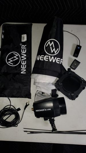 Neewer C-180 flash for Sale in Tempe, AZ