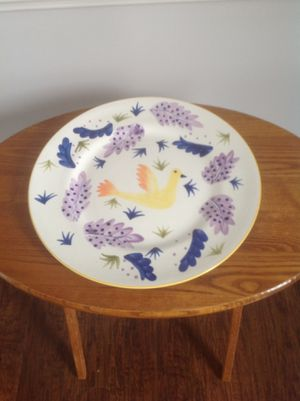 Decorative Platter and Matching Canister for Sale in Ashburn, VA