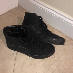 Unisex Black Hightop Vans for Sale in West Palm Beach, FL