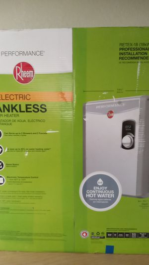 Tankless water heater for Sale in Tampa, FL