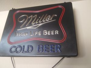 Old beer sign for Sale in Longview, TX