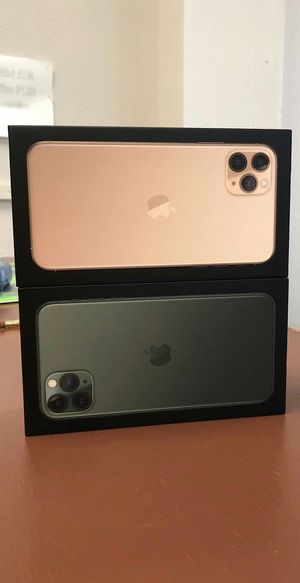 Apple iPhone 11 Pro Max 512Gb / 256Gb / 64Gb - Unlocked / AT AND T T-Mobile Verizon Sprint Starting @ for Sale in Arlington, TX
