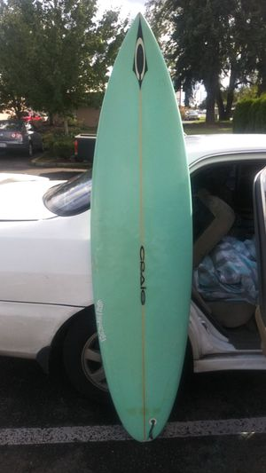 David craig surfboard hand sighned for Sale in Vancouver, WA