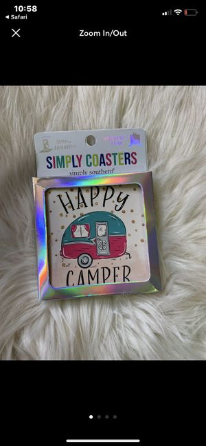 Happy Camper Coaster Simply Southern for Sale in Sevierville, TN