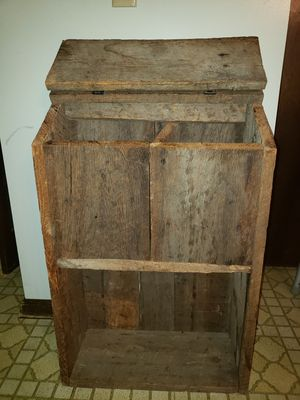 Rustic Handcrafted Farm Potato and Onion Bin for Sale in Columbus, OH