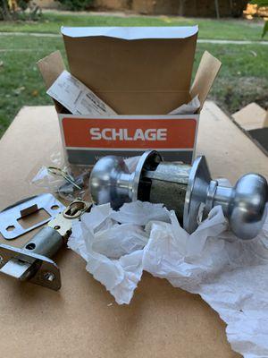 Schlage restroom door lock knob $10 brand new never used for Sale in Buena Park, CA