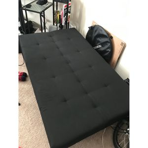 Black Futon (IKEA BALKARP) Sofa Chair Bed for Sale in Washington, DC
