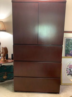 Kimball solid cherry wood armoire/cabinet. for Sale in Oviedo, FL