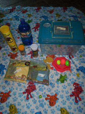 Hermit crab cage and supplies for Sale in Evansville, IN