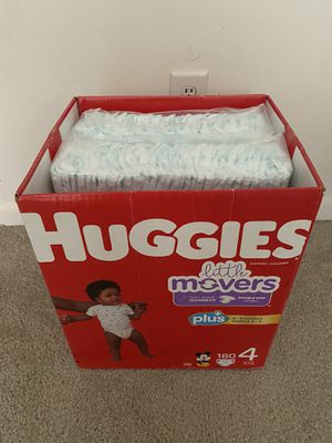 Huggies Little Movers - Size 4 -120 count (Unopened Individual packs) for Sale in Rocky Hill, CT