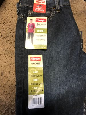 Wrangler Boot Leg Jeans for Sale in Martinez, CA