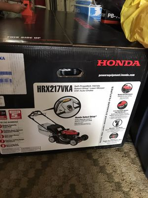 HONDA LAW MOWER BRAND NEW for Sale in Tacoma, WA