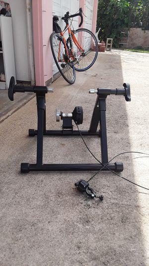 Stationary bike trainer for Sale in Kaneohe, HI