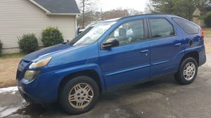 2004 PONTIAC AZTEC WITH AUTOMATIC TRANSMISSION, COLD AIR, ALL POWER OPTIONS, 240K HIGHWAY MILES, RUNS GREAT, PRICED TO SELL AT $2950... for Sale in Cartersville, GA