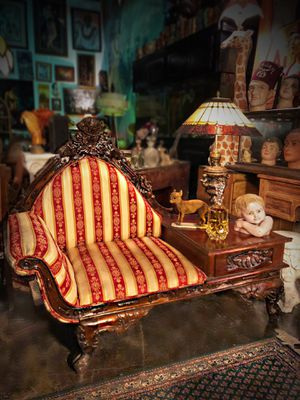 Victorian Settee Sofa Chair Antique Vintage Furniture for Sale in Fort Lauderdale, FL