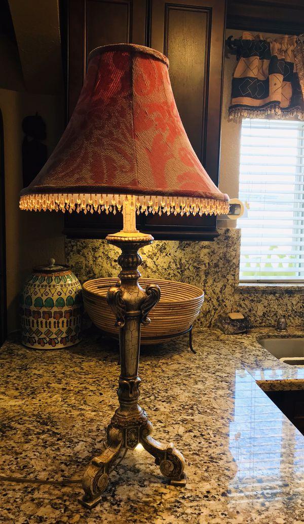 Brocade/Bling Table Lamp