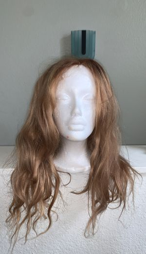 Human hair blonde wig for Sale in Buena Park, CA