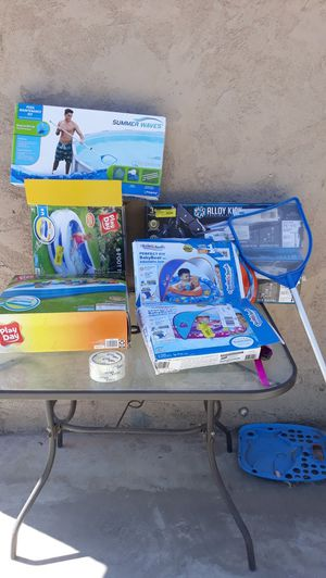 Pools and baby floats for Sale in Highland, CA