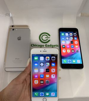 Unlocked Apple iPhone 6 Plus 128GB for Sale in Chicago, IL