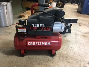 Craftsman air compressor for Sale in White Lake charter Township, MI
