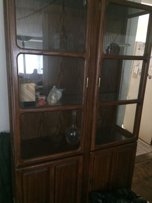 Free China Cabinet Due to Moving for Sale in Rye, NY
