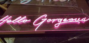 Custom led neon sign and el wire neon light .DIY kit for Sale in Holyoke, MA