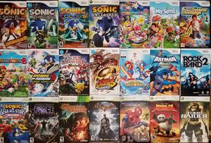 23 Wii Xbox Nintendo Game Instruction Booklet Manual 6 Sonic Rings Black Knight Unleashed Colors 5 Mario Party 8 9 Smash Strikers Star Wars for Sale in Tampa, FL